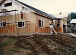 8月工房建設