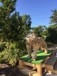 ライオン斜めから33